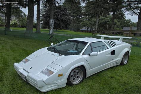 1989 Lamborghini Countach 25th Anniversary Image. Chassis
