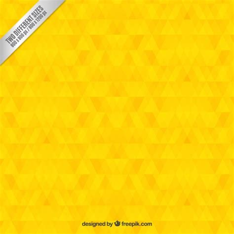 yellow geometric background design vector from free vector geometric yellow background vector free download