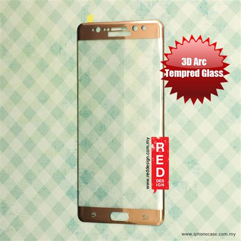 Tempered Glass Electroplanted Samsung Galaxy Note 7 Warna samsung galaxy note 7 note fe factory oem 3d arc
