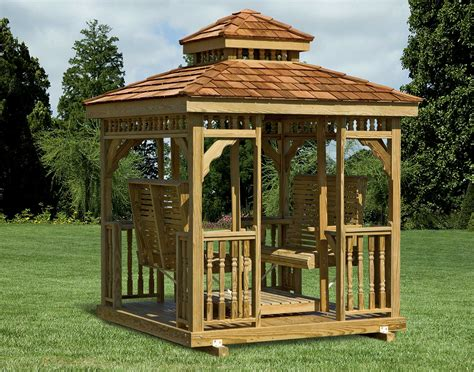 Small Patio Gazebo Five Steps Small Backyard Gazebo 2686 Hostelgarden Net