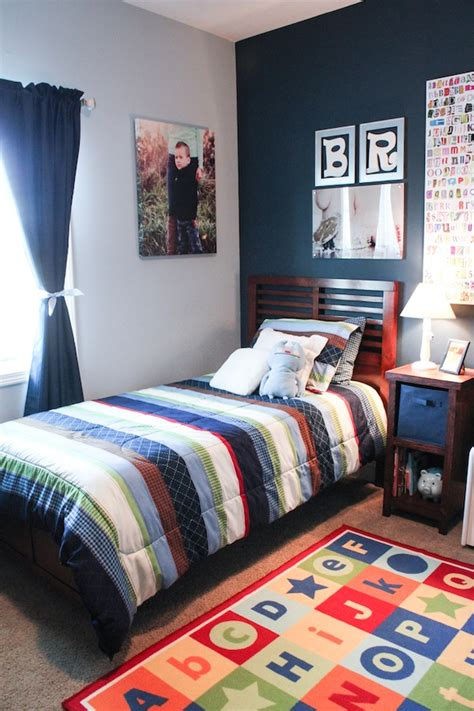 boys bedroom ideas paint big boy room reveal the middle child s room best of
