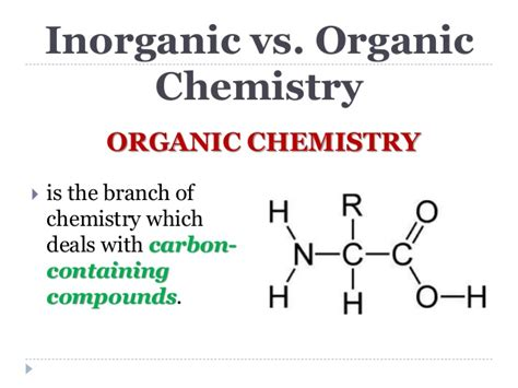 What Is An Organic Compound Organic Chemistry Pre Board Review 2014