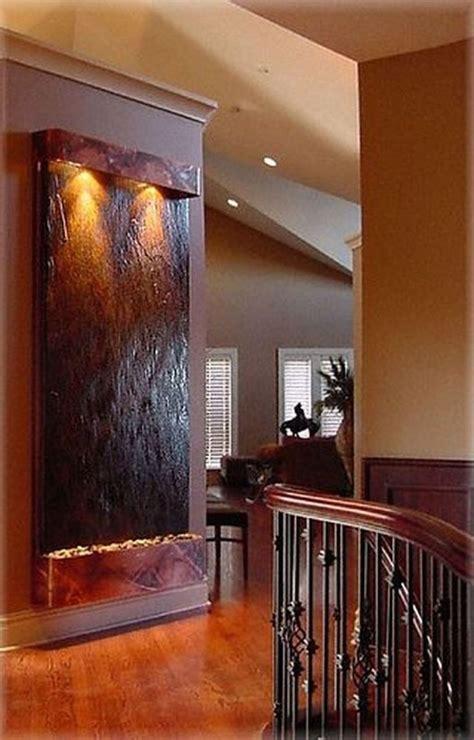 amazing modern indoor wall waterfall design ideas
