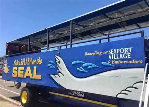 san diego boat bus tour san diego seal hibious sightseeing tour discounts