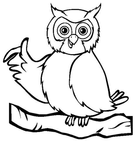 O The Owl Coloring Page by Wise Owl Coloring Animals Town Animals Color Sheet