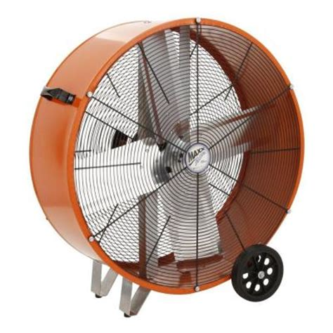 Ventamatic 30 In 2 Speed Direct Drive Barrel Or Drum Fan