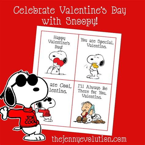 printable school valentines cards peanuts free printable cards featuring snoopy