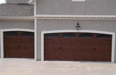 Clopay Ultra Grain Garage Doors With Wrought Iron Arch Clopay Garage Door Windows