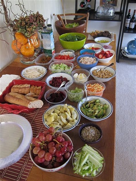 salad bar toppings salad bar perfect simple idea for a lunch get together or