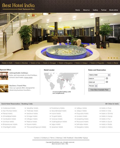 hotel website templates for asp net hotels website templates