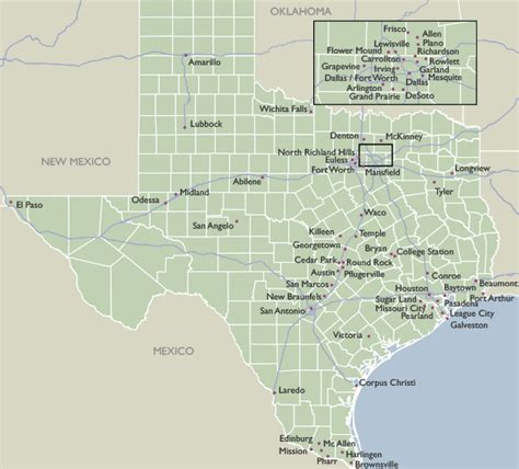 zip code map of texas city zip code maps of texas
