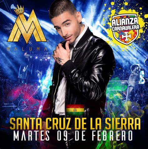 maluma en concierto 2016 concierto de maluma en santa cruz de la sierra bolivia