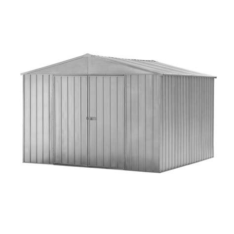 Garden Shed Warehouse by Qiq Fix 3 0 X 3 0 X 2 0m Zinc Garden Shed Bunnings Warehouse