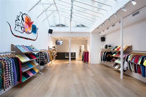 suprem shop brinkworth designs quot honed and clean quot interior for supreme