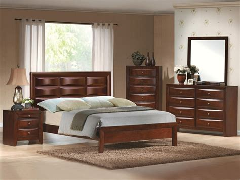 emily platform bed 6 bedroom suite in espresso