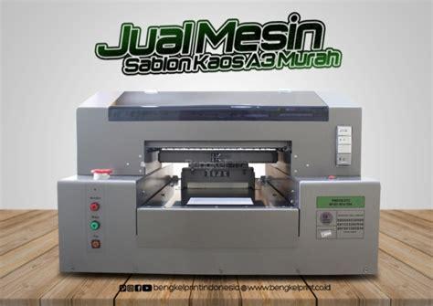 Printer Dtg A3 Murah 79 printer cetak sablon kaos 3d printer dtg jawa timur