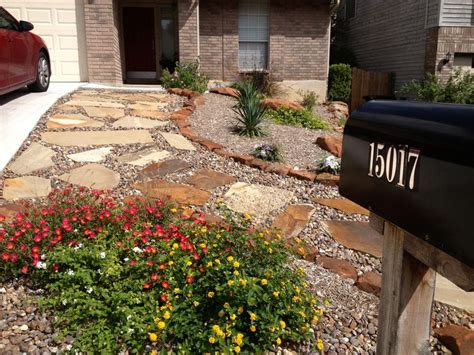 backyard san antonio front yard xeriscaping by raul perez landscaping san
