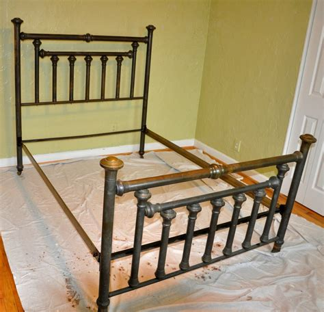 vintage iron bed antique iron bed frame c 1920 antique cast iron gold