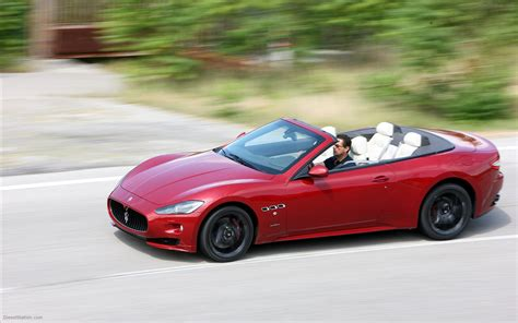 maserati sport car maserati grancabrio sport 2012 widescreen exotic car