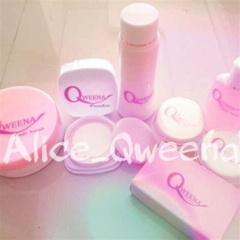 Pemutih Qweena qweena skincare dengan kandungannya yang terbuat dari bahan yang aman dengan formulasi yang