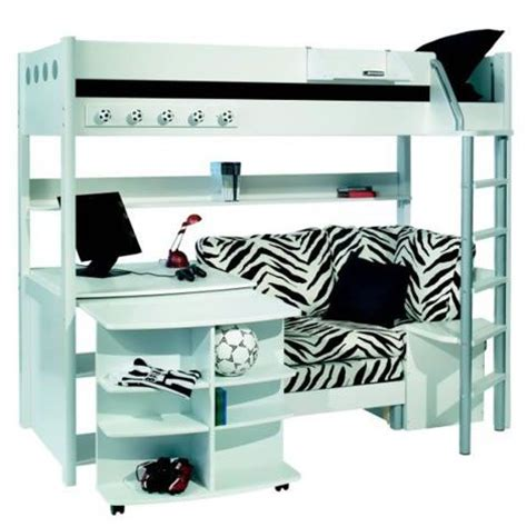 bunk beds with desk and stompa combi 1 bunk bed