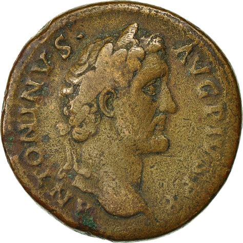 le comptoire des monnaies 491693 monnaie antonin le pieux sesterce 140 144 rome