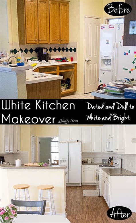 22 kitchen makeover before afters kitchen remodeling ideas prepossessing 50 white kitchen makeovers design ideas of