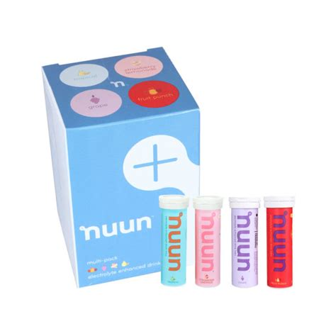 nuun active sports isotonic hydration tablets 4 pack
