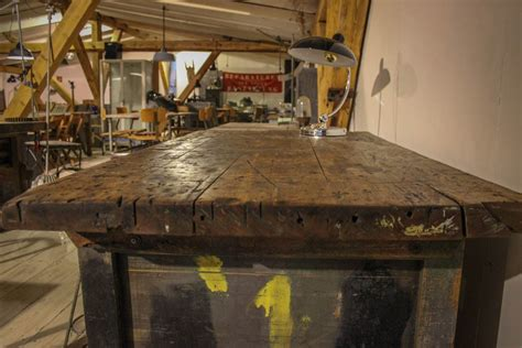 werkbank holz alt sideboard tisch aus alter werkbank flat no 6 selected