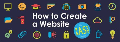 how to make your how to create a website the fast and easy website guide for beginners