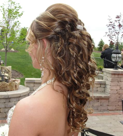 half up half down hairstyles for bridesmaids up down hairstyles for prom 1000 images about bridesmaids