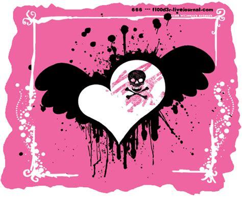 imagenes de corazones emos corazones rotos
