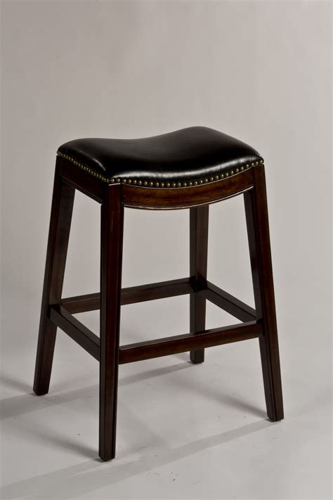 backless black swivel bar stools hillsdale sorella non swivel backless bar stool espresso