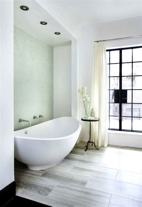 Bathroom With Mosaic Tiles Ideas Italian Lavasca Tub Contemporary Bathroom Hammersmith