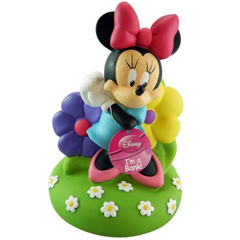 disney minnie mouse bowtique piggy bank ebay