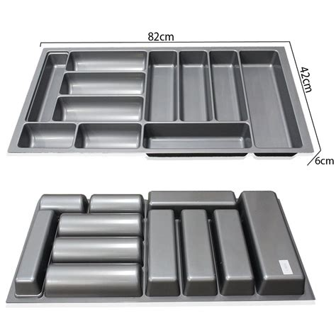 Plastic Cutlery Trays For Drawers by 800mm 900mm Plastic Cutlery Trays Kitchen Drawers Blum