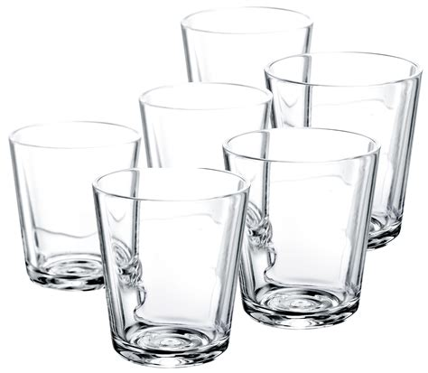 Glass Set Water Glass Set Of 6 Transparent By