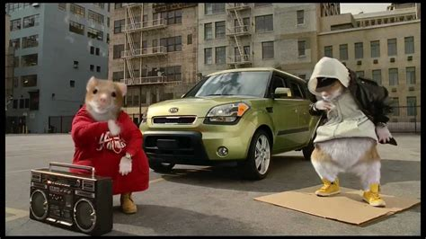 Kia Animals 2015 Kia Soul Ev Hamster Commercial Featuring Animals By