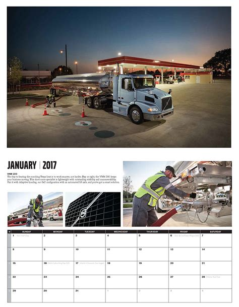 volvo sports america calendar volvo trucks 2017 calendar now available for order