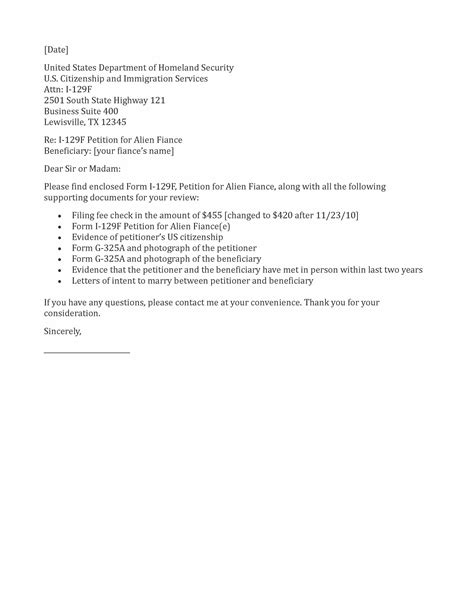 Employment Letter For Fiance Visa Cover Letter K1 Visa Resume Writing Marketing Manager