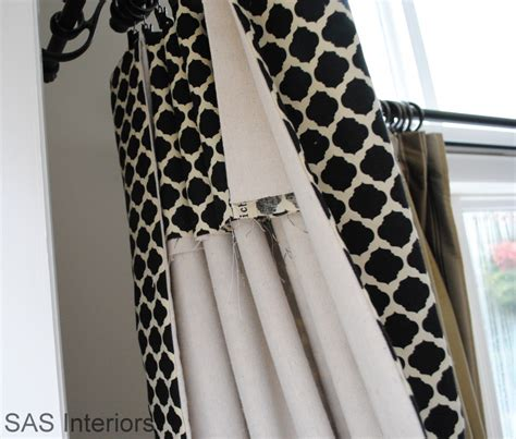 how to make simple lined curtains diy how to make simple lined window drapery panels