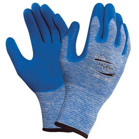 Sarung Tangan Ansell Hyflex 11 724 ansell schutzhandschuh hyflex blau 247mm gr 246 223 e 9