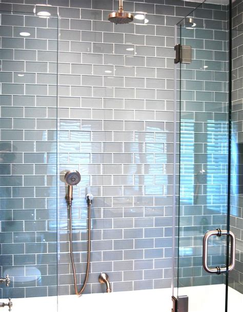 light grey subway tile lush 3x6 fog bank light gray glass subway tile tile