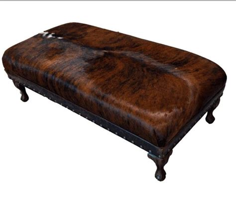cowhide coffee table ottoman 17 best ideas about cowhide ottoman on cowhide