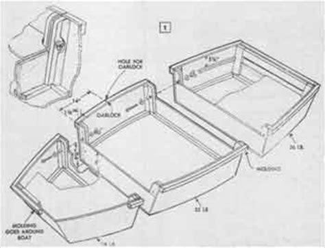 foldable boat plans free nice easy jon boat plans cl