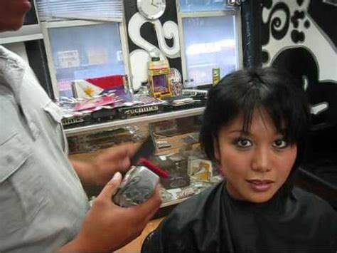 haircut regulation girl dare is a dare girl with a hair design youtube