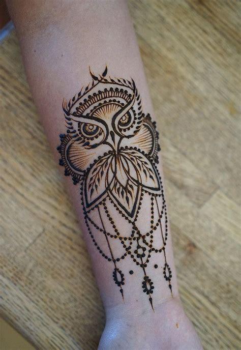 owl pattern henna mehndi hq image piercings