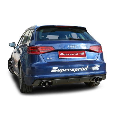 audi a3 exhaust system audi a3 8va sportback 1 2 tfsi 85 105 hp 2012 gt audi