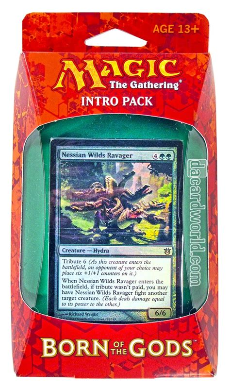 Intro Pack Born Of The Gods magic the gathering born of the gods intro pack insatiable hunger da card world