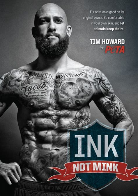 tim howard reveals impressive tattoos as everton keeper